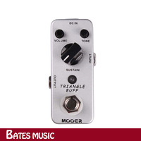 Free shipping!!!NEW Effect Pedal/MOOER Triangle Buff Fuzz Pedal /Full metal shell True bypass