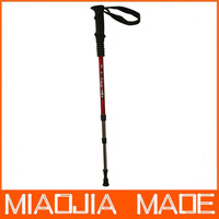 Free shipping for DHL 60pcs/lot E05 Factory Price three Joint Alpenstock Walking Sticks Hiking Pole Alpenstock Best Sale