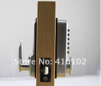 Mechanical Code Digtal Door lock With Zinc Alloy Material Use For Wooden Door
