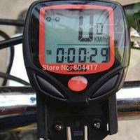 Free Shipping S548B Waterproof  LCD Bicycle Computer Display Bike Odometer Speedometer 14 Functions + Wholesale