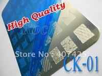 NEW!!! 42 Design XL Medium Size Konad Design Stamping Image Plate Print Nail Art Large BIG Template Seal DIY *CK-01*