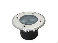 3W LED Underground Deck Light inground lamp outside lighting warm white/white/red/green/blue/RGB
