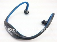 Sports Wireless Bluetooth Headset Headphone Earphone for motorola Phone PC Blue  classic style