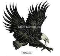 TM060267/ water and sweat proof rub-on transfer tatoo stickers/colour tatoo sticker eagle/CE/10pcs per lot,free shipping