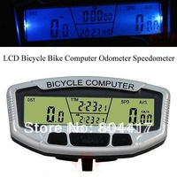 Promotion!!! Guaranteed New 100% Multifunction Digital LCD Backlight Bicycle Bike Computer Odometer Speedometer Clock Stopwatch