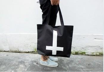 EAST KNITTING BA-001 Punk New Fashion Cross Canvas Shopping Bags Handbags Women 2013 Free Shipping