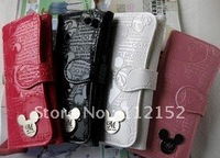 Free Shipping! Hot! Korea style Cartoon ladies wallet 3 folder's buckle lady's wallet