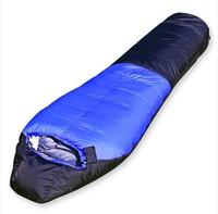 Snow mountain sleeping bag (-40degree),mummy camping sleeping bag,high quaity 1800g down sleeping bag,  free shipping