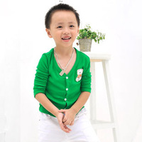 2013 Children Fashion Casual Jersey Hoody Kids Wear 6-Color Candy Cardigan, Free Shipping K0108