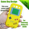 2012, Gameboy Series, for Samsung Galaxy S3 case, Silicone case for Samsung i9300 galaxy s3, 10pcs/lot, free Shipping, 12 Colors