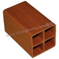 6060 Square wood wpc  decking wood  waterproof board