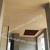 100*15 cut ceiling board wpc wood pvc wall panel waterproof fireproof