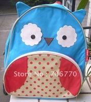 "NEW Wholesale  LOTS Schoolbag for Children Blue Owl Stylish Backpack 12"" size FREE SHIPPING"