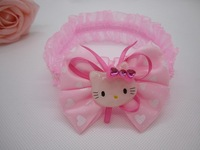 Newest Hello Kitty+20pcs/lot girls hairbow,Childrens Hair accessories,Baby designer hair clip