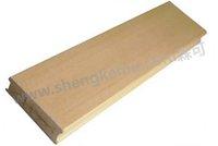 51*16 Square wood wpc composite floor pvc wood
