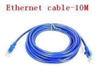 10m RJ45 Cable 33ft CAT5 CAT5E Ethernet LAN Network Cable 100pcs/lots