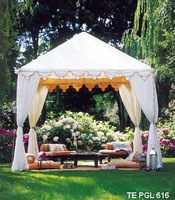 Luxurious folding tent/foldable wedding tent/luxurious wedding tent