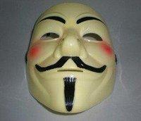 Free shipping  party V for Vendetta Halloween Mask Super Scary masks Horror masks V for Vendetta
