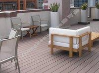 100*21 WPC Outdoor Floor wood plastic floor pvc decking Copy wood decking