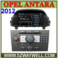 Promotion! 2DIN indash Opel Antara 2012 Car DVD with GPS navi Bluetooth Ipod control Radio TV free GPS maps !