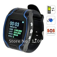 CRT19N GPS Wrist Watch Tracker Real-time GPRS Security Surveillance Quad Band SOS GSM 850/900/1800/1900 MHz Quad Frequency