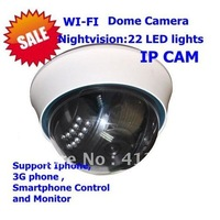 "Dome IR Security wifi Camera HD Night Vision Webcam 1 3""cmos"