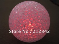 Hot Sales!! 12cm Height LED Crystal Christmas Light with Changing Colors! Free Shipping!!