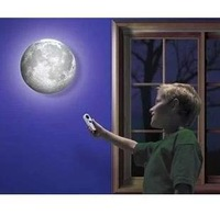 36pcs/ctn wholesale healing moon LED wall night light,remote control moon light, moon lamp projector  AAA*4 not include