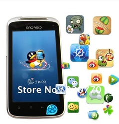 Freeshipping 3G WCDMA GSM+GPS+WiFI 4.0 Inch Capacitive screen phone mobile Star Unlocked Android 2.3 MTK6573 cellphone A3(China (Mainland))