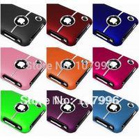 Wholesale 1Pcs/Lot luxury Chrome Case For iPhone 3G/3GS Plastic Hard Back Case 3gs iphone accessories