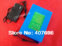 free TNT shipping 1pcs/lot 48V 20AH LITHIUM BATTERY PACK FOR ELECTRIC BICYCLE EBIKE with 2A fast charger
