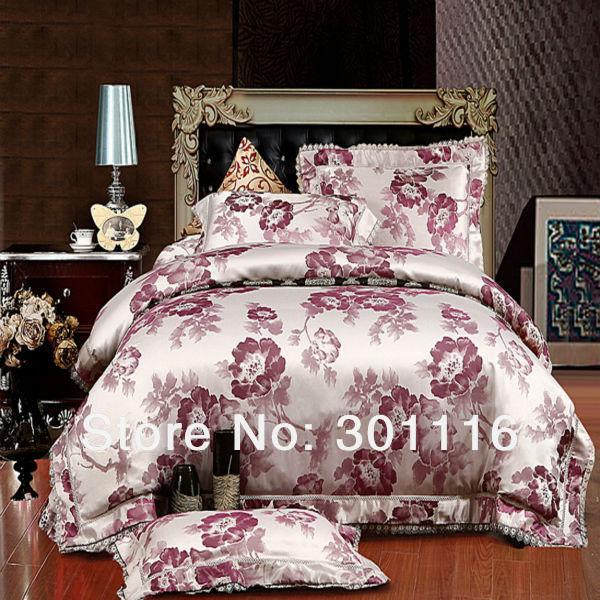 for sale 15 luxury jacquard spring bedding set duvet cover