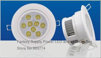 12pcs/lot free shipping LED downlight lamp 36W(12*3W) High power Days lanterns wholesale
