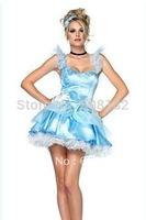 2012 New Mail  Costumes  White Princess Dress HS030