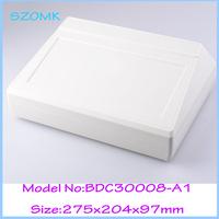 (2 pcs)free shipping  plastic desktop control panel   275*204*97 mm Junction Box Plastic electronics box