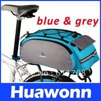 Cycling Bike Bicycle Frame Rack Pack Multifunctional Bag Blue,Bike bag,free shipping