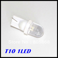 Free shipping Car W5W BULBS 2825 194 901 T10 1 LED Wedge LIGHT White Color