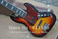 5 String JAZZ bass Vintage Sunburst ebony fingerboard electric bass