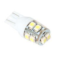 FreeShipping  Wholesale Car Led Light 10pcs/lot  T10 W5W 168  10 1210 SMD LED Bulb Lamp White Color