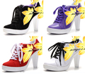 NEW style, high heel shoes,sneaker,dance shoes,  size Eur 36 to 42, please see the size list in length,free shipping!
