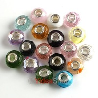 Wholesale - 50pcs New Mixed Crystal Charms Beads Fit Bracelets 150079