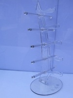 sungalsses display racks/ display stands/ arrylic display for sunglasses or optical frames 6 colors