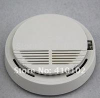 10 pcs/lot Wireless Smoke Gas Fire Detector Sensor For Security Auto Dial Burglar Alarm System