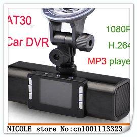 1080p h264 noite ir visão digital zoom lanterna at30 full hd dvr carro novo transporte(China (Mainland))