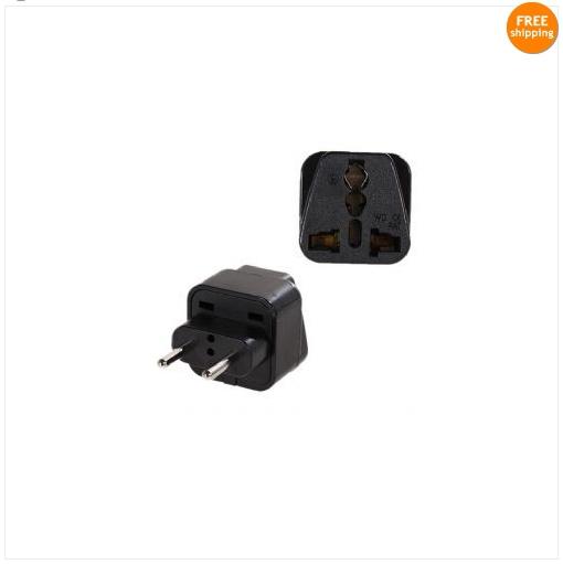 Universal AU US UK EU BRAZIL ITALY AC Power Plug High Quality Adapter Travel Converter Plug 10pcs FREE SHIPPING(China (Mainland))