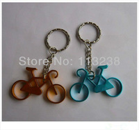 Customed Small Bike Key Rings For Bike Shop Promotion Free Shipping