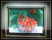 10PCS LED Crystal Ultra-thin 11mm light box A3, LED advertising light box, free shipping