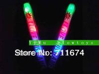 can cutomize logo promotion led glow stick baton free shipping