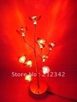 Romantic Rose Type(Red Rose)!Free Shippings! 100% LED Home Decoration for Christmas/1pcs is MOQ!