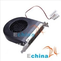 PCI Slot Exhaust Fan Blower Card Cooler 500pcs/lot Free ship by EMS